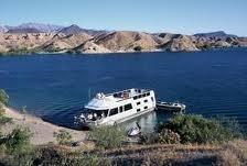 Lake Mohave With Boatt Bullhead City