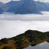 Lake Near Sunnig Grat Summit