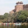 Lake Outside Purana Qila