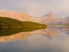Lake Sherburne Dam Bend - Glacier - USA