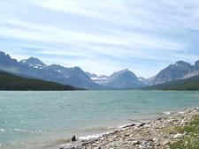 Lake Sherburne Dam - Glacier - USA