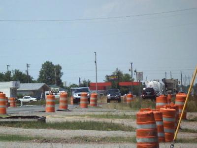 Lake  Village  Road  Construction