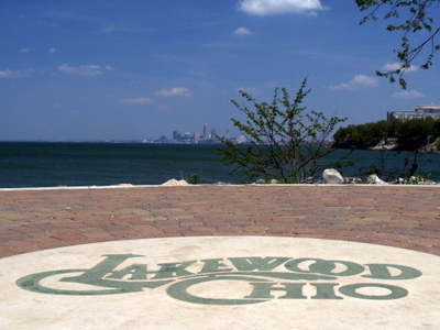 Lakewood Park   View To Cleveland