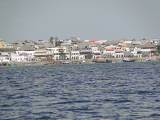 Lamu As Viewed From The Sea
