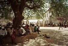 Lamu Town Square In Front Of The Fort. 1996
