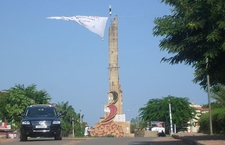 Landmark Monument In Bissau