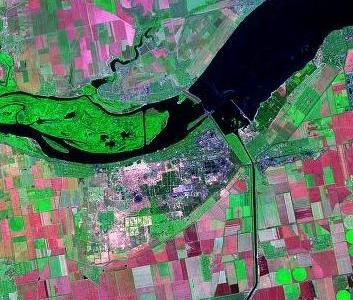 Landsat  Nova  Kakhovka