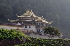 Langmusi Temple In Sichuan