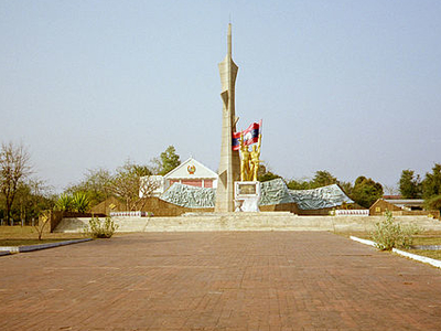 Lao-Vietnam Friendship Monument