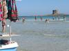 La Pelosa Beach Crowd