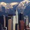 L A Skyline Mountains 2