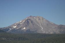 Lassen Peak And Devastated Area