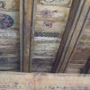 Las Trampas Eglise Plafond Entree