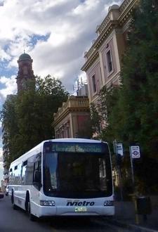 A Launceston Bus In St John Street
