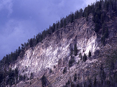 Lava Creek Tuff - Yellowstone - USA