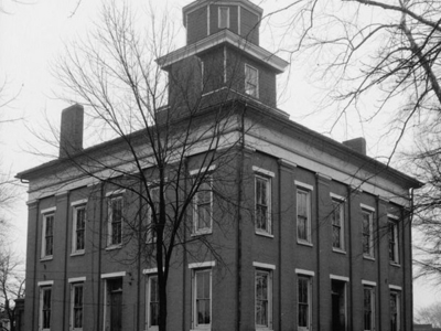Lawrence County Courthouse In Moulton March