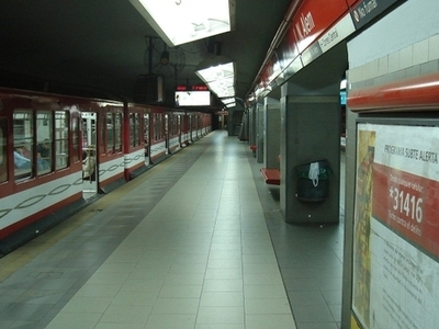Leandro N. Alem Underground Station