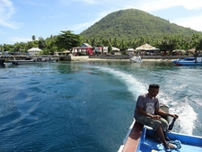 Leaving Pulau Maitara - The Moluccas