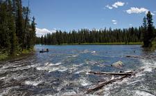 Leigh Lake Trailviews - Grand Tetons - Wyoming - USA