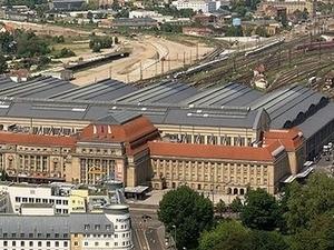 La estación central de Leipzig