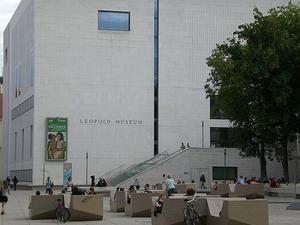Leopold Museum Entrance Photos