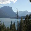 Lewis Range At Glacier - USA