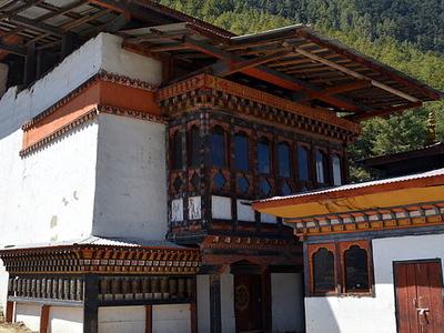 Lhakhang Karpo And Nagpo Bhutan