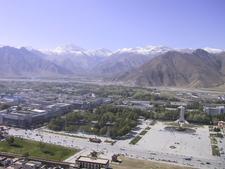 Lhasa Vom Potala