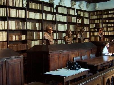 Library Of Plantin Moretus Museum