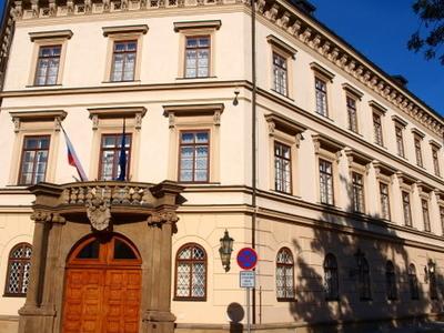 Lichtenštejnský Palác On Kampa Island