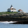 Lighthouse In Frenchman's Bay - Bar Harbor ME