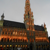 Brussels Town Hall At Night