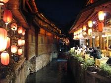 Lijiang Old City Night