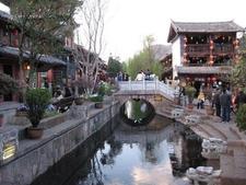 Lijiang Old City Rivers Bridges