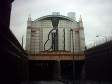 Eastern Portal Of The Limehouse Link Tunnel
