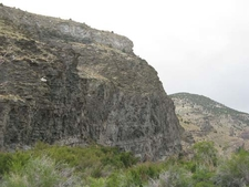 Limestone And Shale Cliffs In Hendy Creek