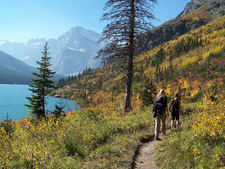 Lincoln Lake Trail - Glacier - Montana - USA