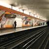 Line 7 Platforms At Place Monge