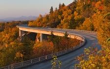 Linn Cove Viaduct NC Neat Mount Mitchell