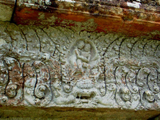 Shiva Fighting Arjuna Gopura Three.