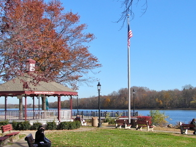 Lions Park On The Delaware River