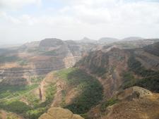 Lion's Point Steep Valleys - Maharashtra - India