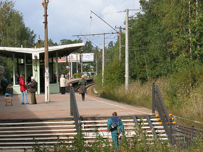 Lisiy Nos Train Station
