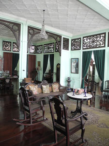 Living Room Area Of Jalandoni House Where They Accepts Guest