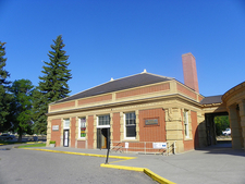 Livingston Depot Center - Yellowstone - Montana - USA
