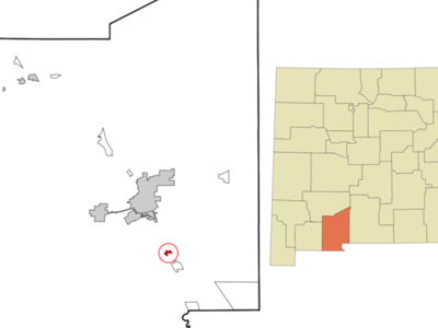 Location Of Mesquite New Mexico