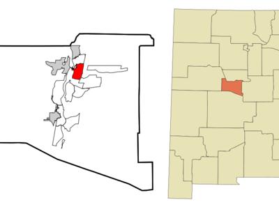 Location Of Valencia New Mexico
