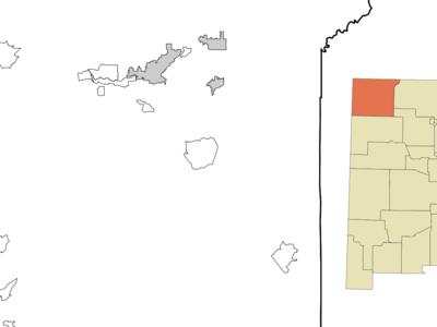 Location Of Beclabito New Mexico