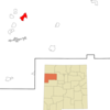 Location Of Brimhall Nizhoni New Mexico