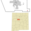 Location Of Chilili New Mexico